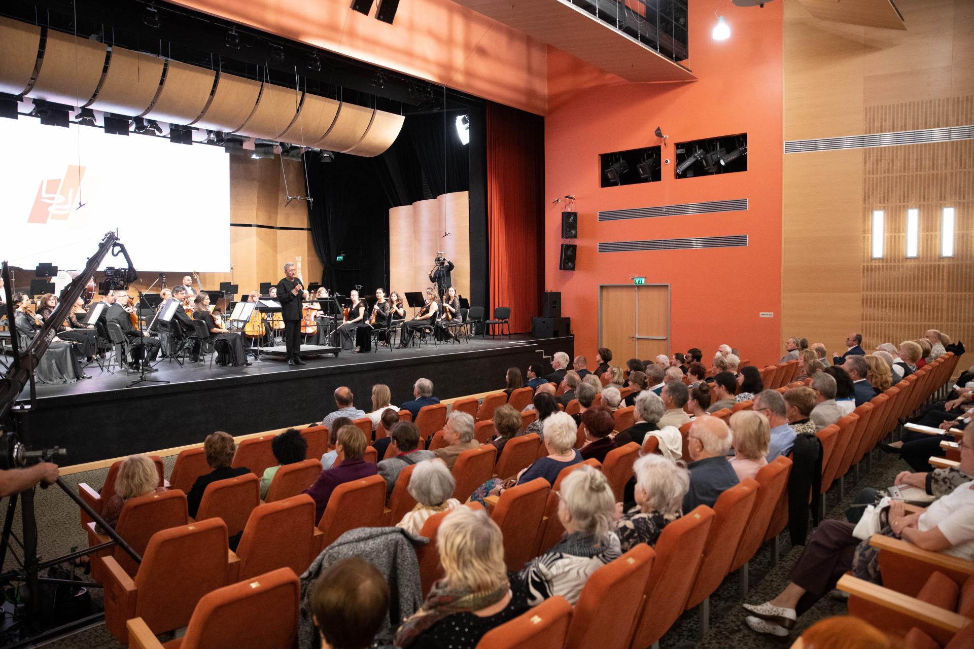 Korszerűsített  koncertterem